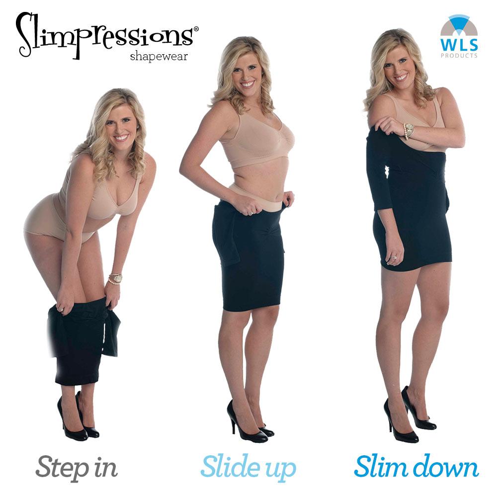 Step in, slide up, slim down